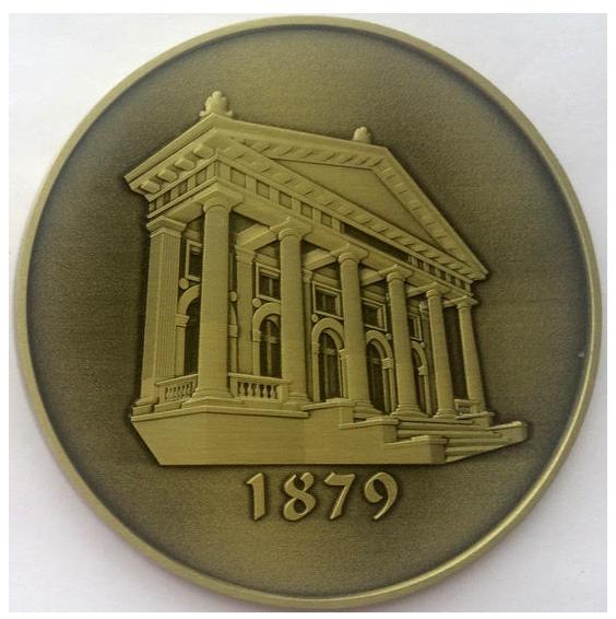 Medalie Iasi - verso